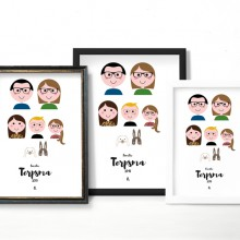 Familieportret - Nabestelling