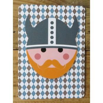 Ansichtkaart - Viking