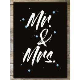 Ansichtkaart - Mr. & Mrs.