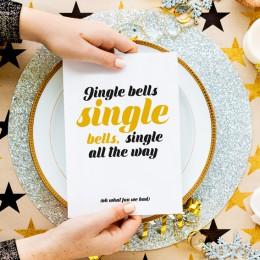 Kerstkaart - Single bells
