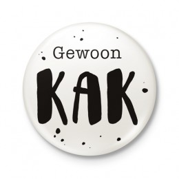 Button 43 mm - Gewoon KAK