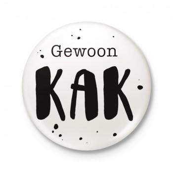 Button 43 mm - Gewoon KAK
