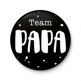 Button 43 mm - Team Papa