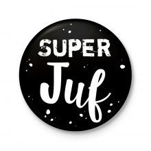 Button 43 mm - Super Juf