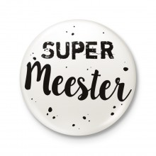 Button 43 mm - Super Meester