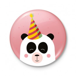 Button 43 mm - FEEST! Panda