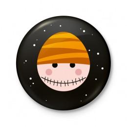 Button 43 mm - Halloween Zombie