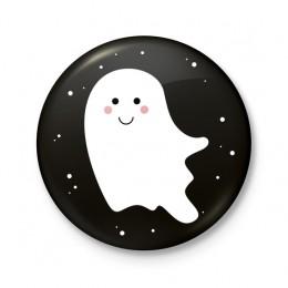 Button 43 mm - Halloween Spook