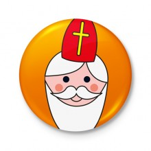 Button 43 mm - Sinterklaas: Sint