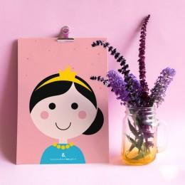 A5 Print - Prinses