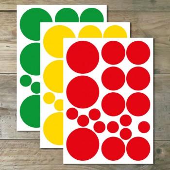 Muurstickers - Confetti Vinyl