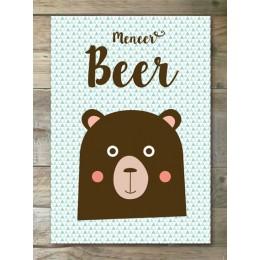 Poster - Meneer Beer