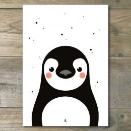 A4 Poster - Pinguïn