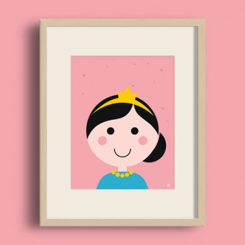 A4 Poster - Prinses