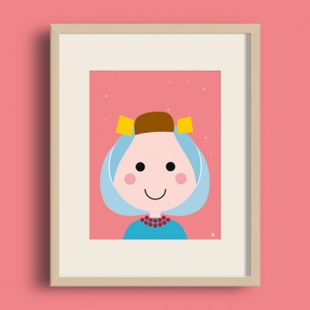 A4 Poster - Zeeuws Meisje
