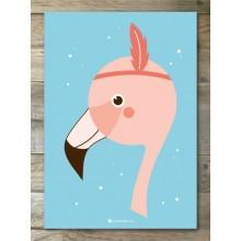 A5 Print - Flamingo