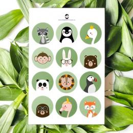 A5 Stickers - Dieren