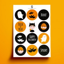 A5 Stickers - HALLOWEEN